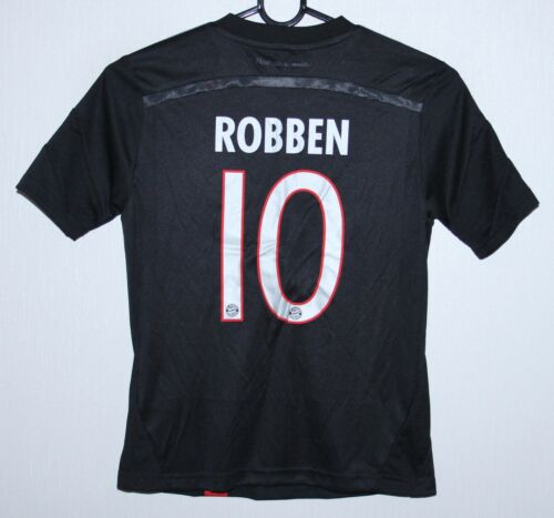 Bayern Munich Germany third shirt 1415 #10 Robben Adidas KIDS size S