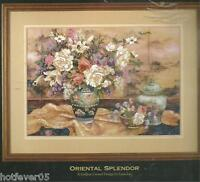 Dimensions Gold Oriental Splendor Crewel Embroidery Picture Kit,sealed.1499