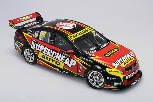 1:18 Biante - 2013 VF Commodore - Supercheap Auto Racing -  66 - Ingall/Briscoe