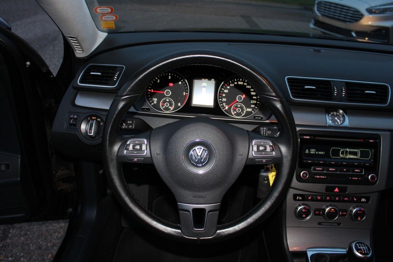 VW Passat 2,0 TDi 140 Comfortl. Vari. BMT - billede 9