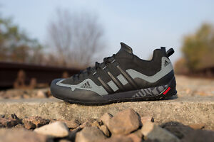 ADIDAS-TERREX-SWIFT-SOLO-D67031-BLACK-MEN-SHOES-OUTDOOR-TREKKING-WALKING-NEW