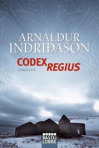 1 von 1 - Codex Regius von Arnaldur Indriðason (2010, Taschenbuch)