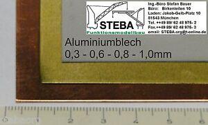Alu Blech Alu-Blech 0,5mm 150x200mm von STEBA 5836/2 - München, Deutschland - Alu Blech Alu-Blech 0,5mm 150x200mm von STEBA 5836/2 - München, Deutschland