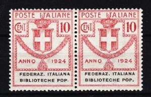 Italien-Mi-Nr-34-Paar-Portomarke-postfrisch-MNH