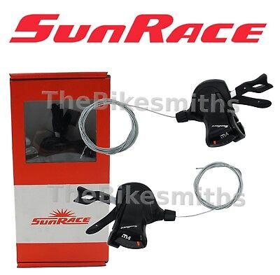 Sun Race DLM400 3x8 Speed Trigger Shifter Set MTB// Hybrid Bike Shimano Suntour