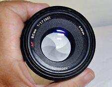 MINOLTA maxxum AF 50mm f/1.7 portrait SONY A Alpha camera lens DSLR -SLR SHARP!!
