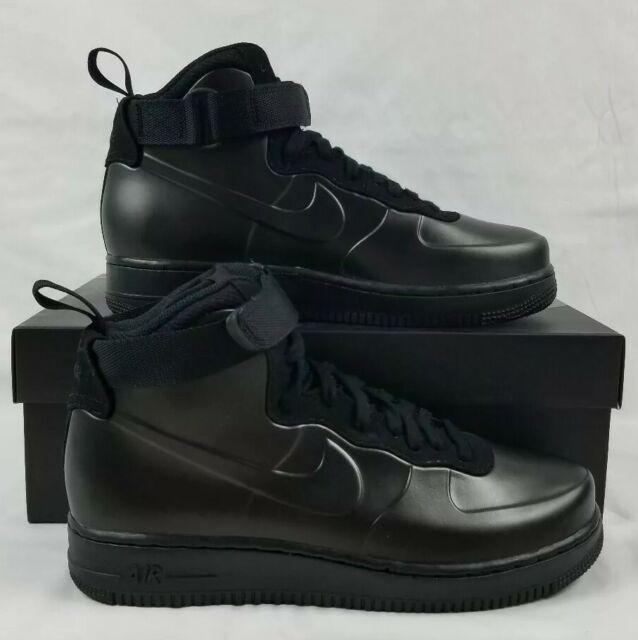 official photos 30cff a5f41 Nike Air Force 1 Foamposite Cup Men's Sz 11 Triple Black AH6771-001 AF1  Sneakers