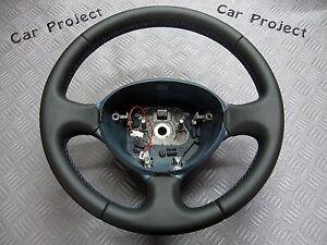 LENKRAD-fuer-FIAT-DOBLO-oder-Fiorino-Qubo-Scudo-Ducato-Panda-LEDER