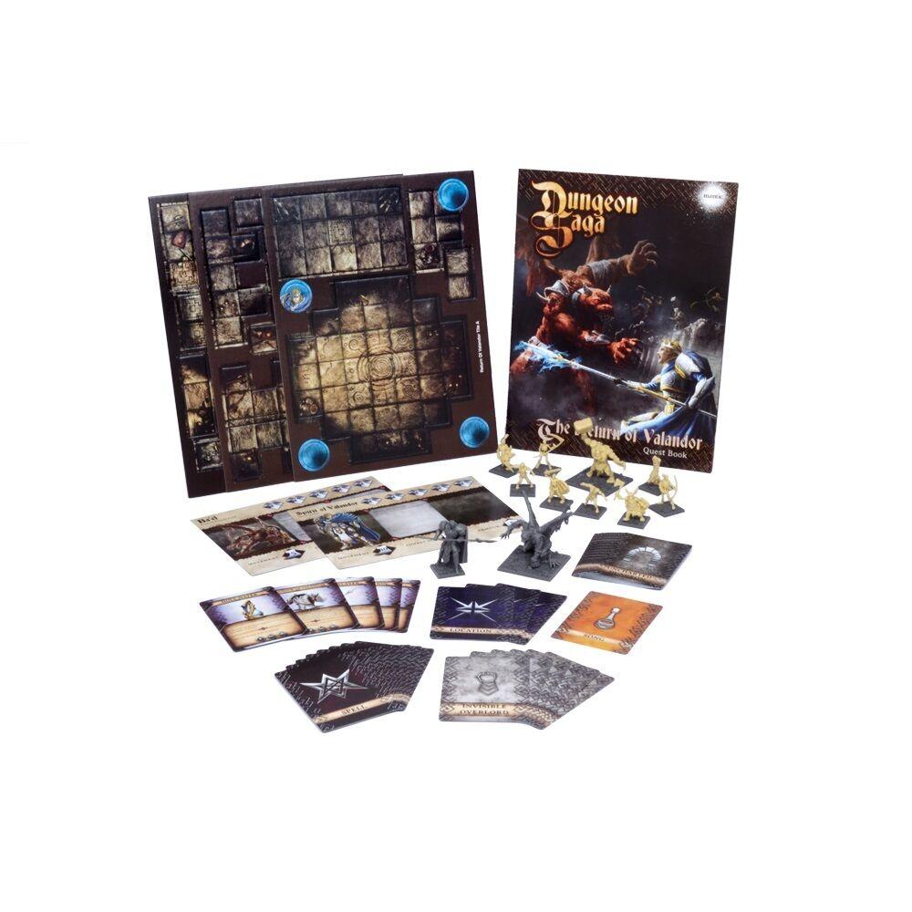 Dungeon Saga  The Return of Valandor (Mantic figures DS03) free post