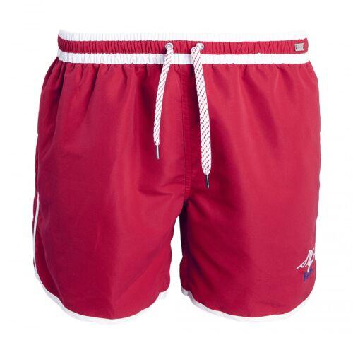 Skiny Pantaloncini da bagno boardshorts Spiaggia Pantaloncini Shorts Costume Uomo Rosso Bianco Wow