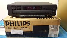 PHILIPS CDC935 900 SERIES 5 DISC CD CHANGER CAROUSEL PLAYER W/ REMOTE MANUAL BOX