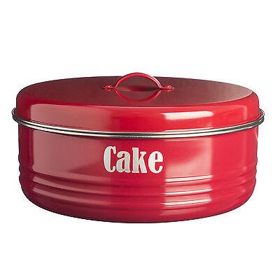Typhoon Vintage Kitchen Cake Tin - Cream, Red, Black, Blue