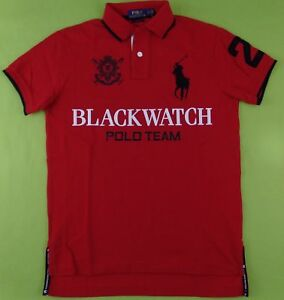 Polo Ralph Lauren Men s BLACKWATCH Polo Shirt Big Pony Logo