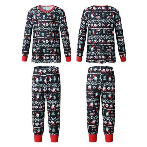 NEW Family Matching Christmas Pyjamas Xmas Festive Nightwear Pajamas PJs Sets UK