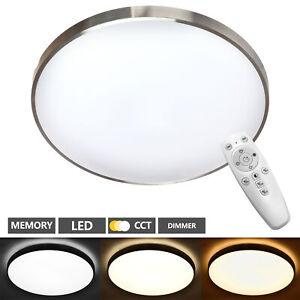 Plafonnier LED Plafonnier Panneau Bad-Lampe Salon Intensité Cuisine Couloir