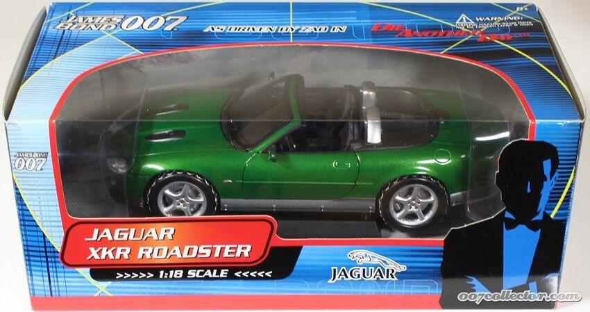 1 18 Piquet 007 James Bond Jaguar XKR Roadster Tous Les gadgets travail Comme neuf in box
