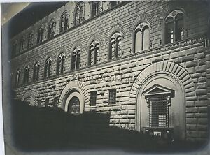 Florence Firenze Palazzo Medici Riccardi Italia Vintage Ca 1900
