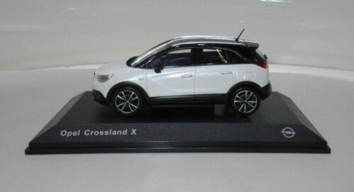 Modellauto Opel Crossland X 1:43 Schnee Weiß 11017