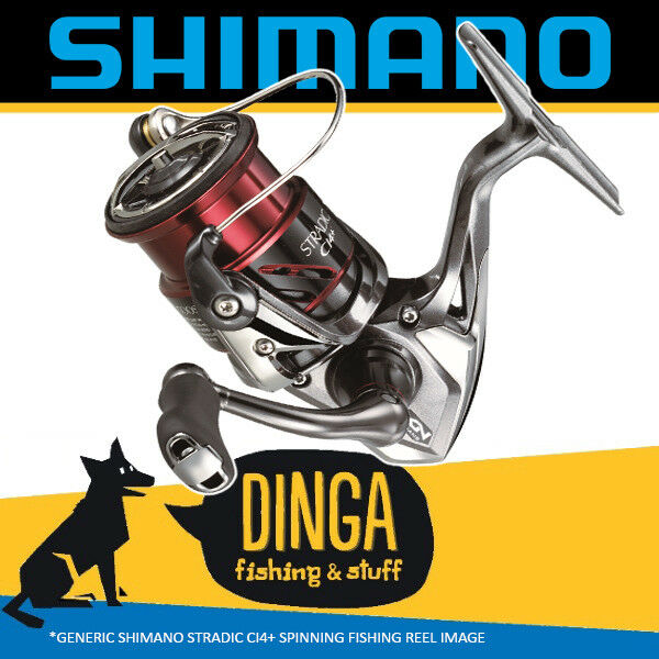 Shimano Stradic | Ci4+ 3000 HG FB Spinning Fishing Reel- NEW