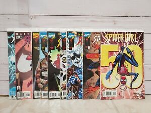 Marvel-Lot-of-9-Spider-Girl-Comics-VF-to-NM-5-8-9-10-11-12-46-48-50
