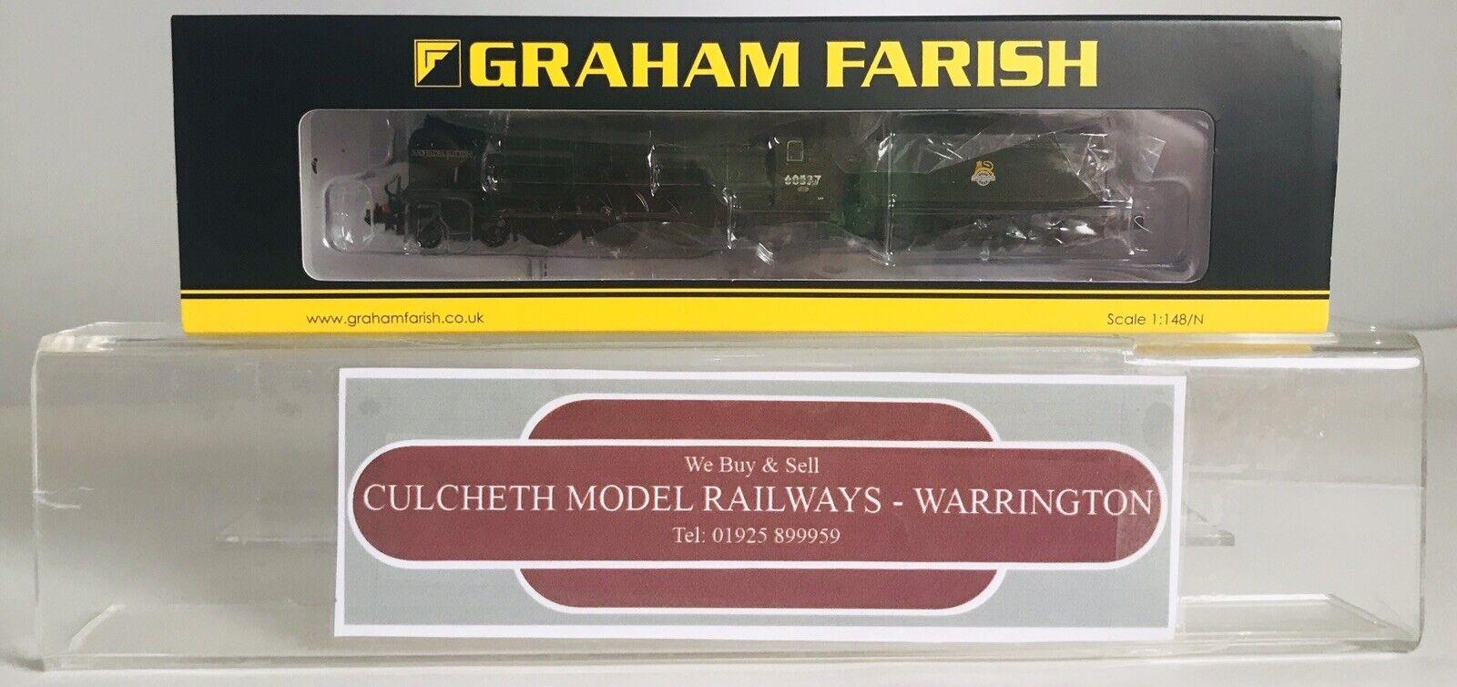 GRAHAM FARISH N GAUGE 372-386 BR GREEN CLASS CLASS CLASS A2 60537 BACHELORS BUTTON LOCO f2a73b