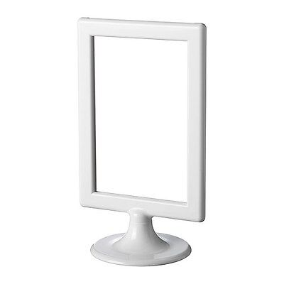 NEW IKEA TOLSBY TABLE PICTURE FRAMES CAN'T BE USED FOR TABLE RESERVATIONS