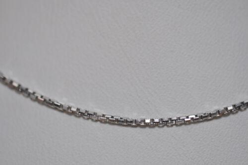 Real 925 Sterling plata cadena Venezia 42 45 50 55 60 cm nr 492