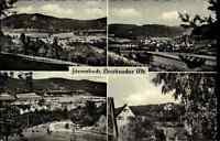 Förrenbach Bayern AK 1961 Mehrbildkarte Mittelfranken Panorama Berge Landschaft