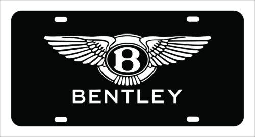 "Custom Made of Chrome Plated Metal /""BENTLEY/"" Bentley License Plate"
