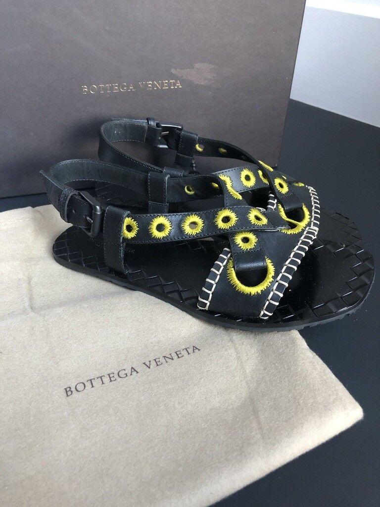 Authentic Bottega Veneta spartiates avec Couture Détails-Taille 36 6