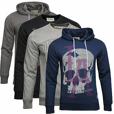 JACK & JONES ORG SWEAT PULLOVER Sweatshirt HOOD Kapuzenpullover
