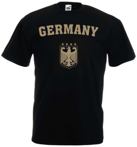 Germany camiseta fan camisa Adler oro S-XXXL