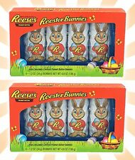 x8 Reese's Reester Bunnies Easter Peanut Butter Milk Chocolate LIMITED EDITION
