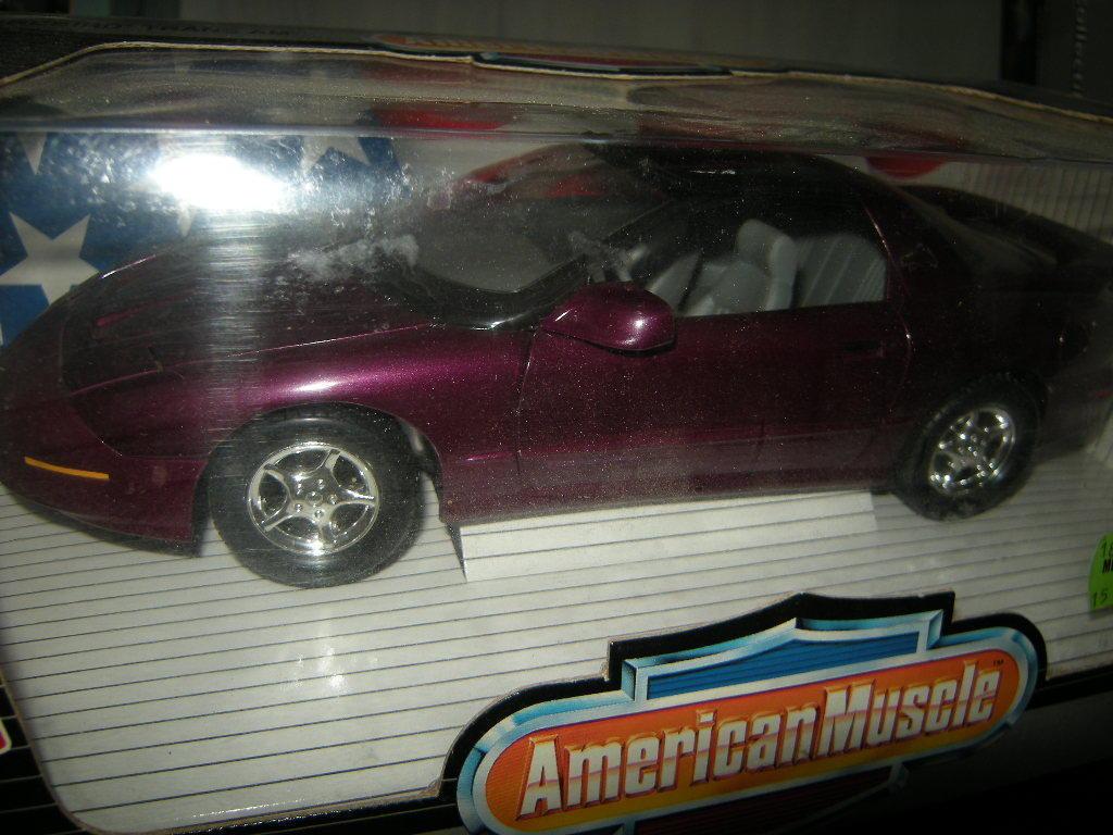 1 1 1 18 ertl American muscle Firebird Trans Am 1996 OVP fae237