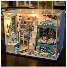 Hágalo usted mismo Artesanía Superior Miniatura Casa De Muñecas-Casa de Muñecas de Madera-Reino Unido Stock Entrega Rápida