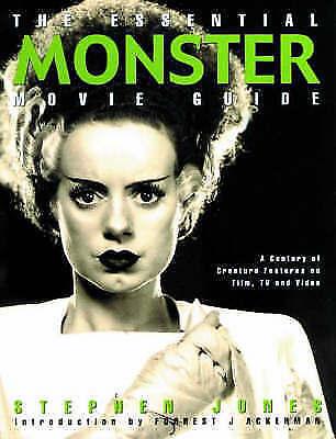 1 of 1 - The Essential Monster Movie Guide, Jones, Stephen | Paperback Book | Good | 9781