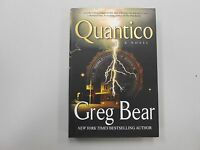 Quantico By Greg Bear (2007, Hardcover) Signed First Edition First Print