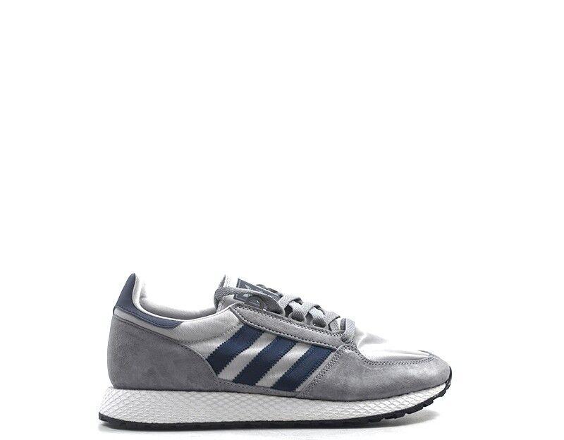 Schuhe ADIDAS Mann grau Stoff,Wildleder  D96631  | Sehr gelobt und vom Publikum der Verbraucher geschätzt