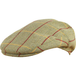 54d79579c98 Jack Pyke Countryman Wool Blend Flat Cap Tweed - Outdoors Shooting ...
