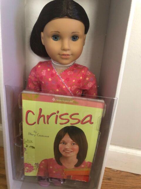 American Girl Doll Chrissa- 2009 Retired Girl of the Year