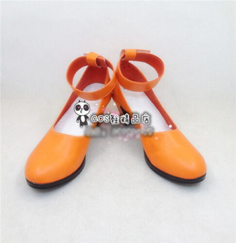 Anime Sailor Moon Sailor Venus Minako Aino Cosplay Shoes Orange Shoes Free Ship