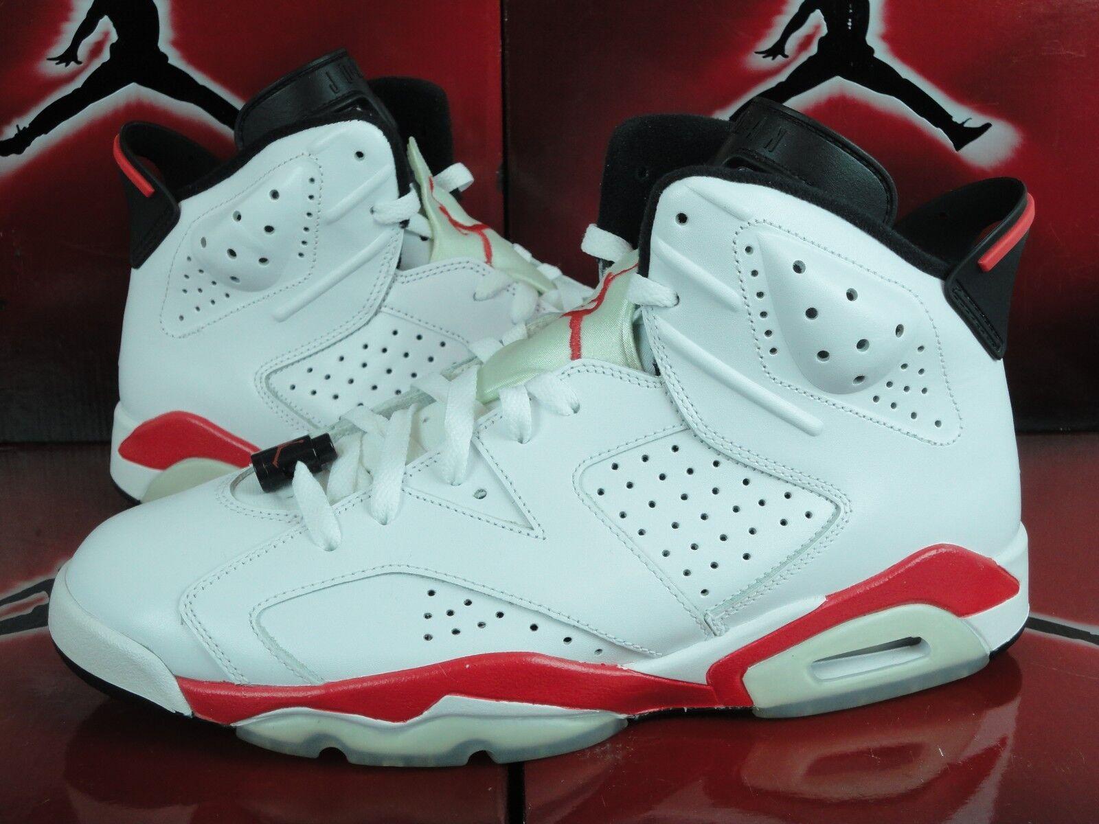 Nike Air Jordan VI 6 Infrared Pack White Pair ONLY Red AJ6 398850-901 Sz 11