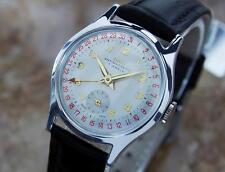 Vintage Oris 1950s Swiss Made 31mm 1950 Mens Watch First Date Pointer Model LA38