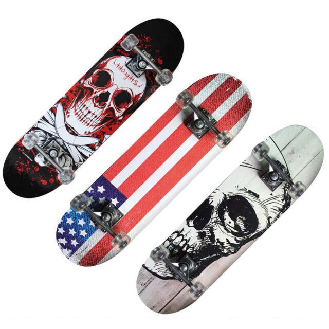 Nextreme Tribe Pro Robusto Skateboard dal Design Accattivante Misure 79x20cm