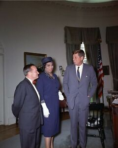 President-John-F-Kennedy-in-Oval-Office-with-singer-Marian-Anderson-Photo-Print