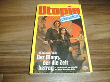UTOPIA CLASSICS  # 29 -- der MANN der die ZEIT BETROG // H. Beam Piper 1981
