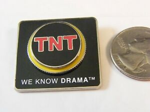 Tnt We Know Drama Tv Cable Network Channel Logo Pin Ebay