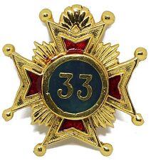 Masonic Rose Croix 33rd Degree Eagle for Collarette JEWEL Medal