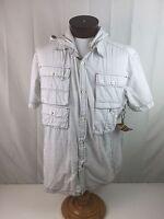 Artful Dodger Jack Dawkins Black White Dot Short Sleeve Shirt 2xl Hood Jacket