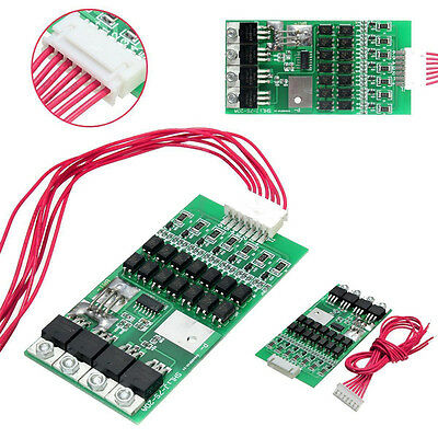 7s Cells 24V 20A W/Balancing Li-ion Lithium 18650 Battery BMS Protection Board